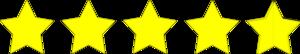 Ocena 5 gwiazdek